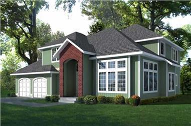 3-Bedroom, 2272 Sq Ft Craftsman House Plan - 119-1203 - Front Exterior