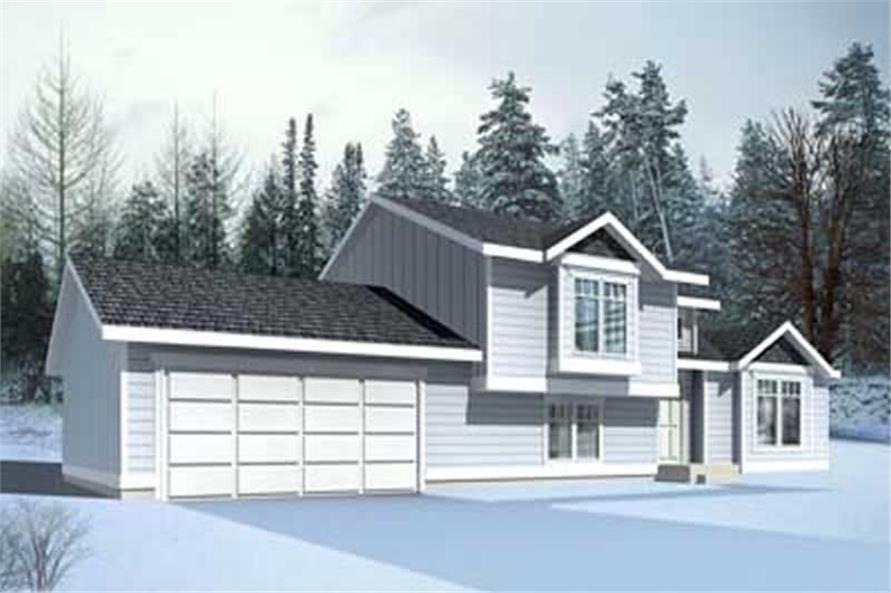 Main image for house plan # 14555