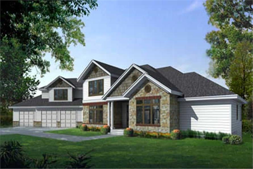 Main image for house plan # 16961