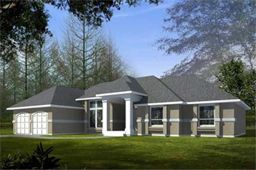 Main image for house plan # 14560