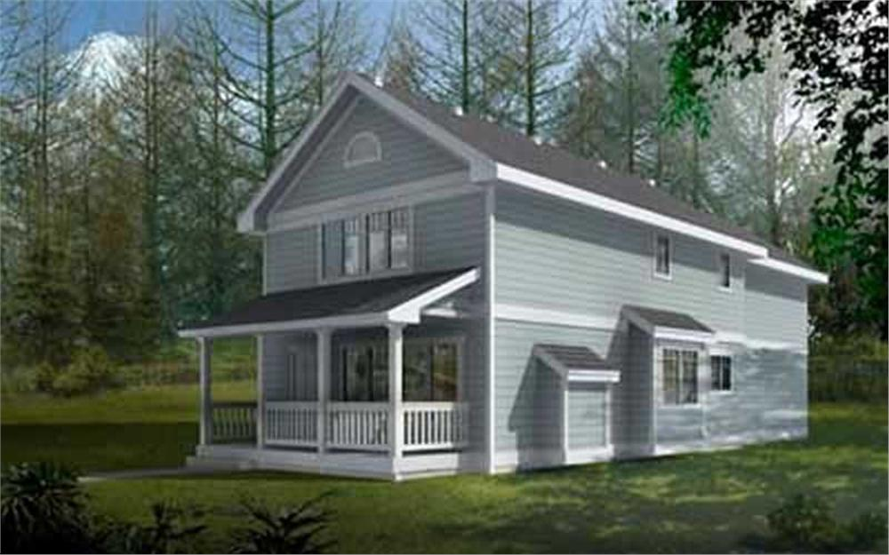 Main image for house plan # 14544
