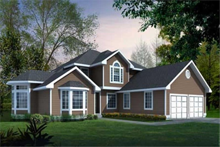 Main image for house plan # 14542