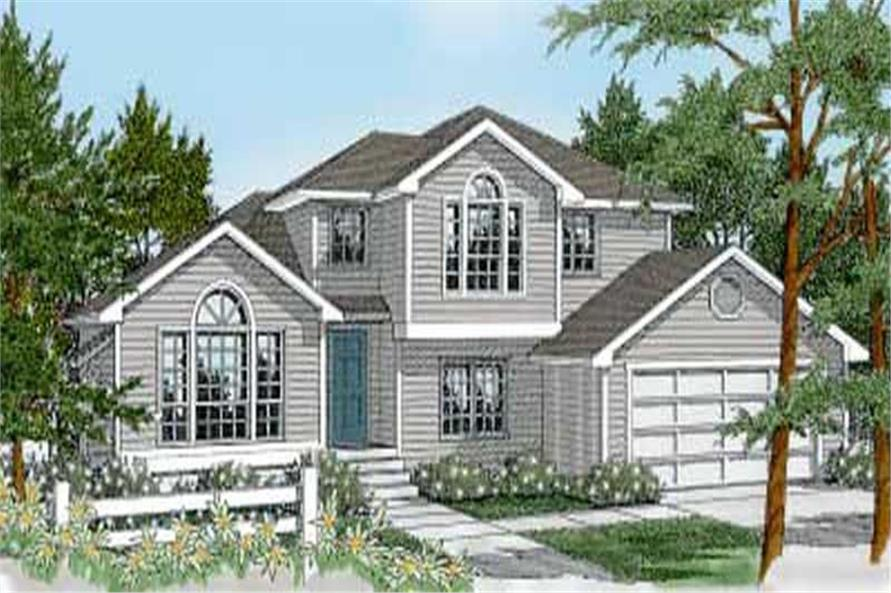 3-Bedroom, 2111 Sq Ft Craftsman House Plan - 119-1243 - Front Exterior