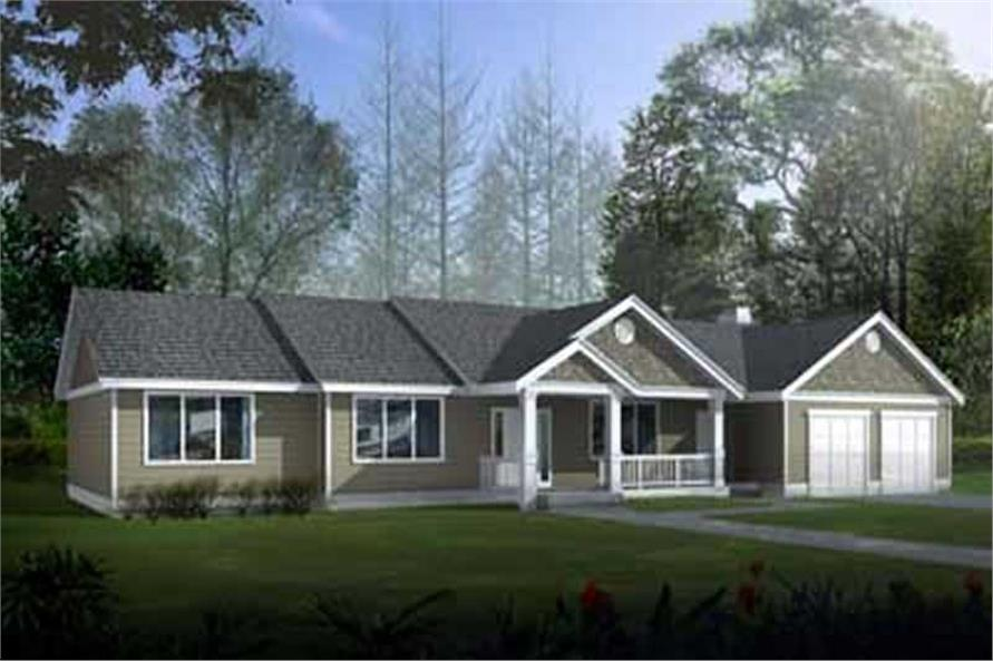 Main image for house plan # 14548