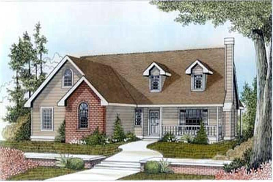 Main image for house plan # 14529