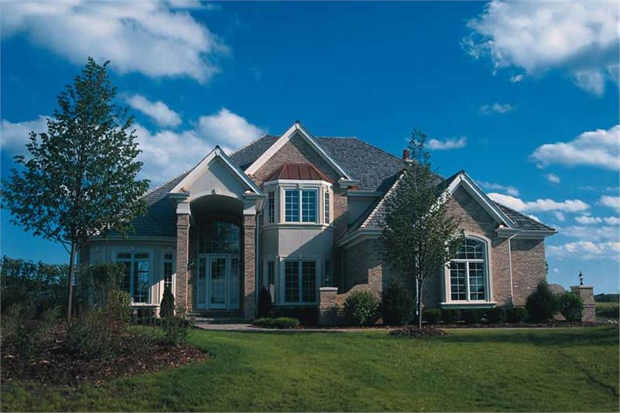 Main image for house plan # 5295