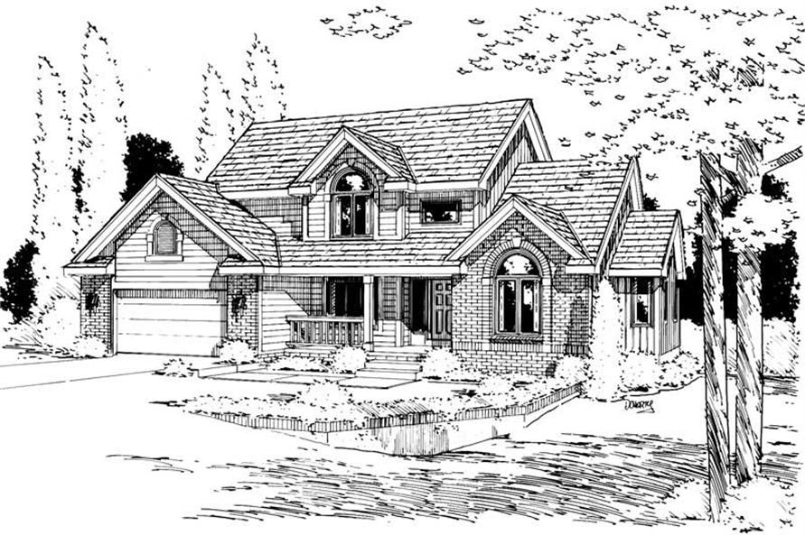 Main image for house plan # 5729