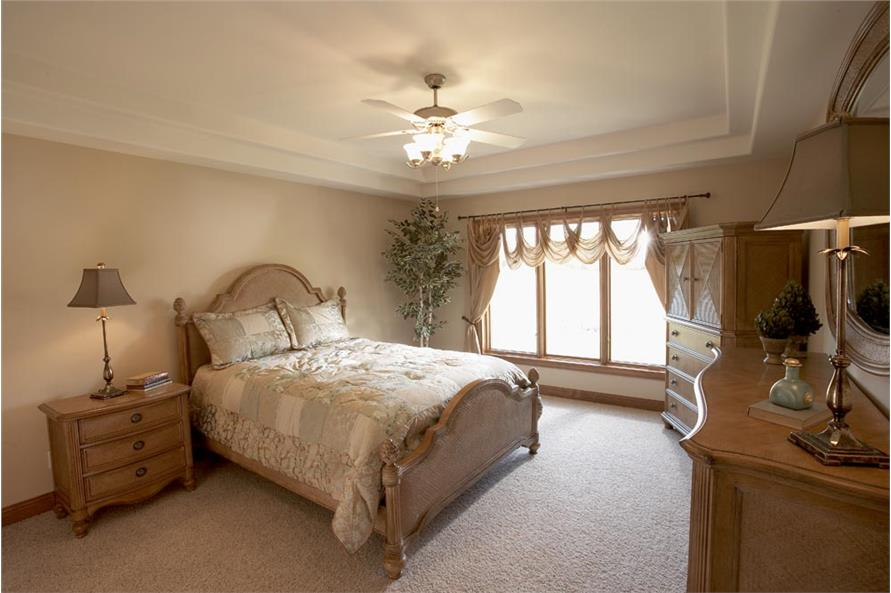 Bedroom of this 3-Bedroom,1360 Sq Ft Plan -1360
