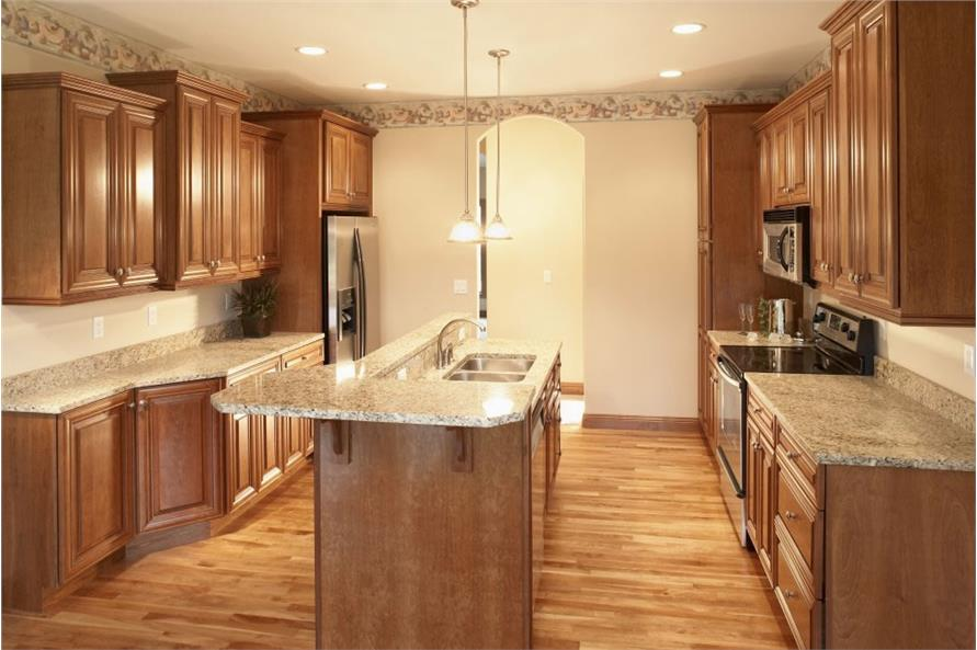 Kitchen of this 3-Bedroom,1360 Sq Ft Plan -1360