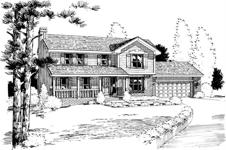 Main image for house plan # 5699