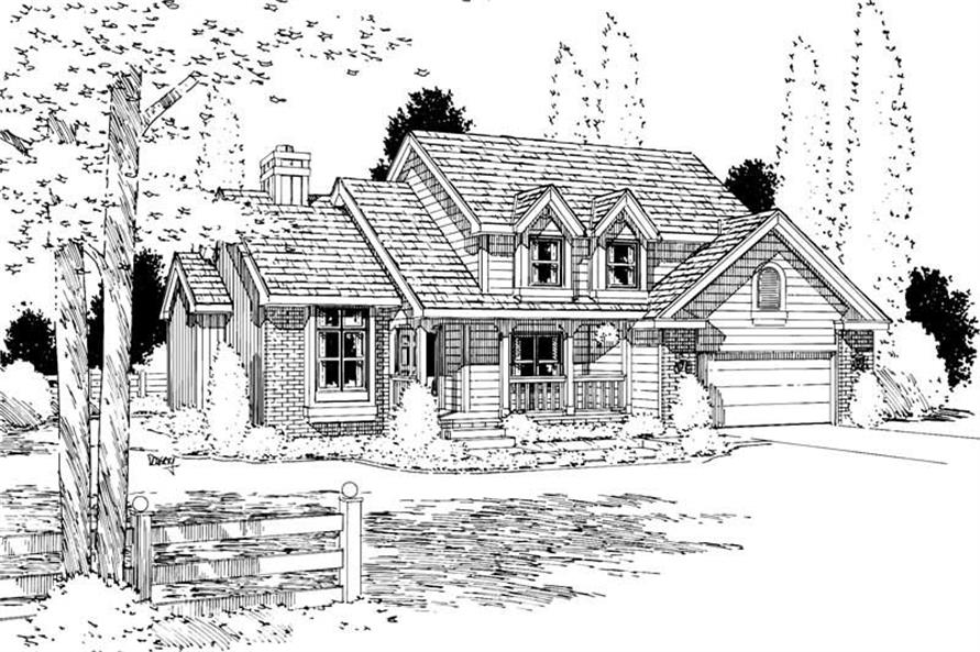 Main image for house plan # 5653