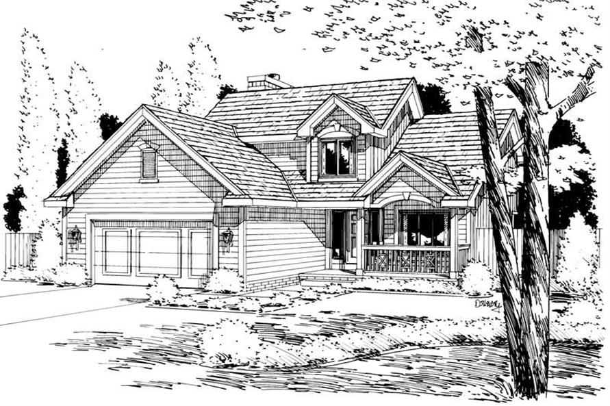 Main image for house plan # 5706