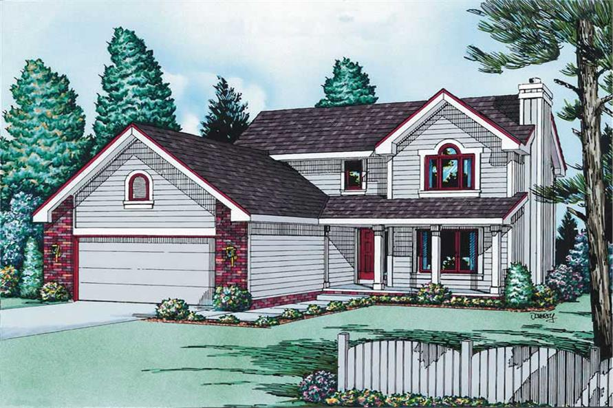 Main image for house plan # 5707