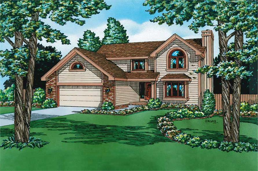 Main image for house plan # 5708