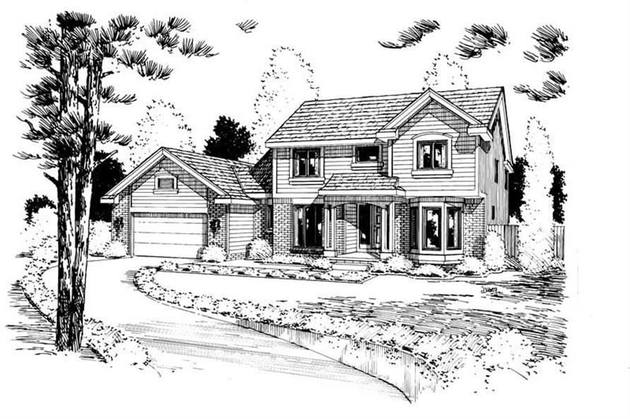 Main image for house plan # 5719