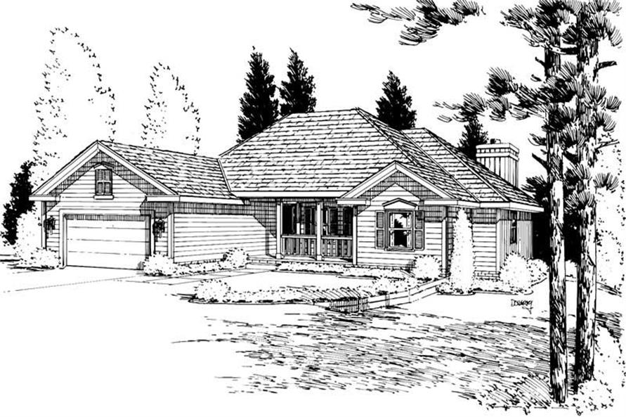 Main image for house plan # 5721