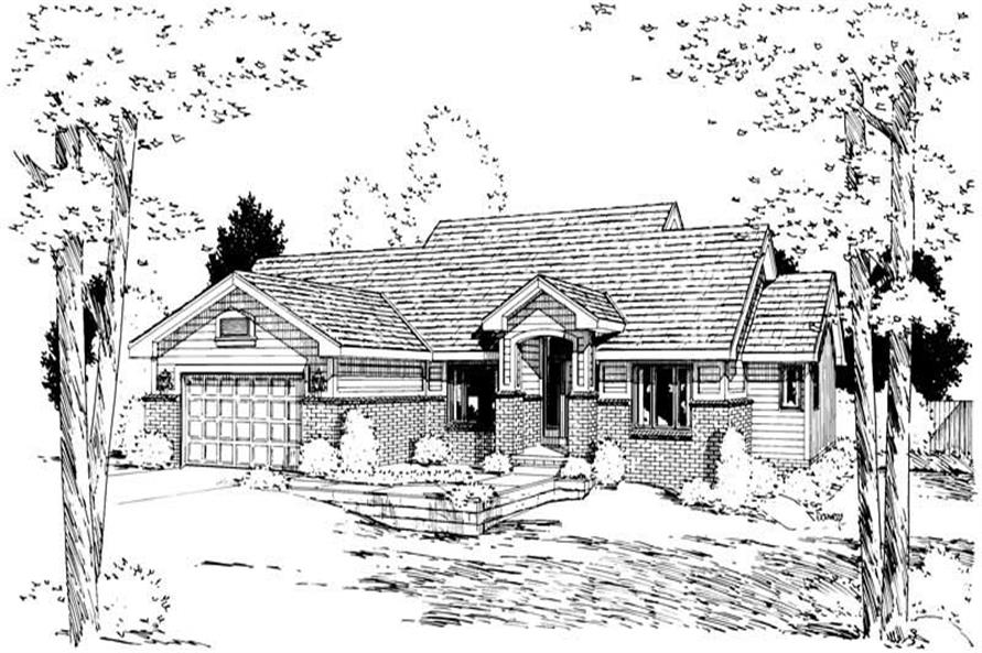 Main image for house plan # 5723