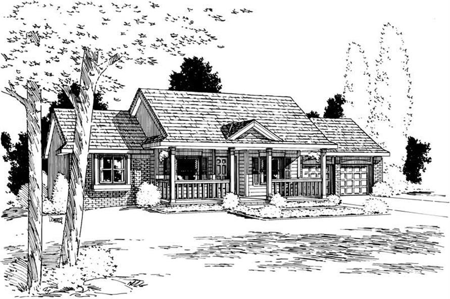 Main image for house plan # 5724