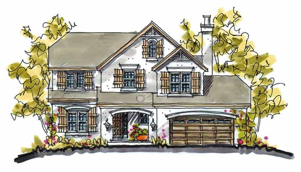 Main image for house plan # 5767