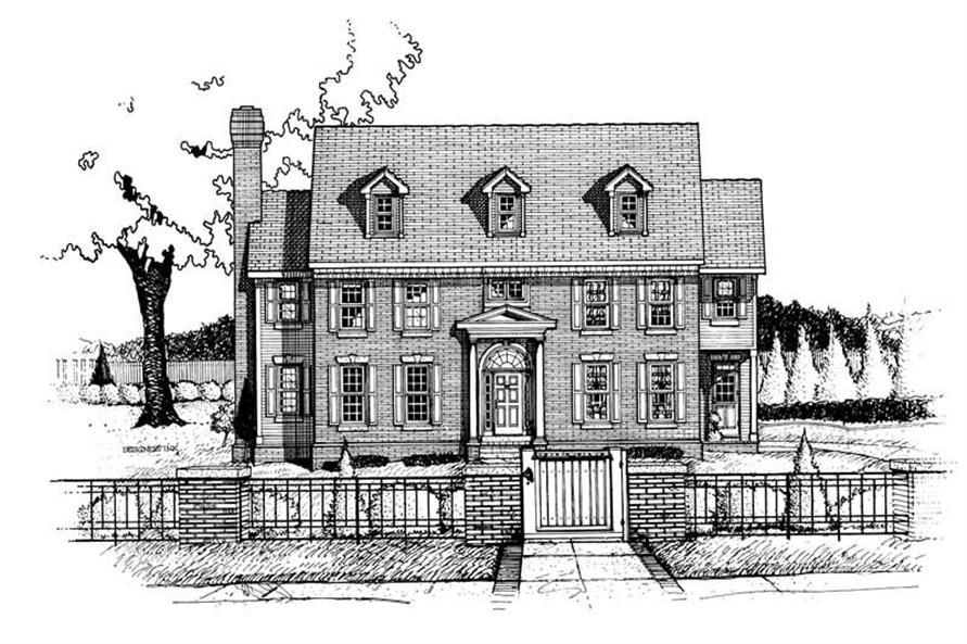 Main image for house plan # 5467