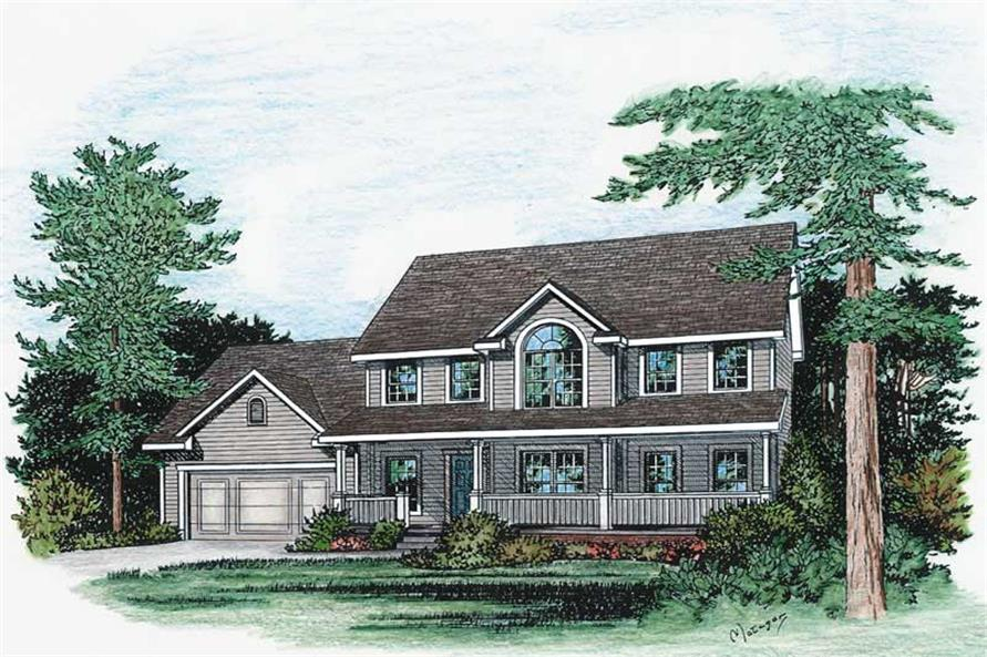 Main image for house plan # 5484