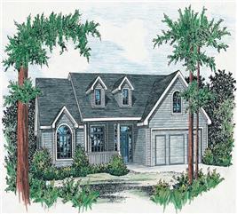 House Plan #120-1057