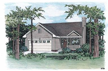 Main image for house plan # 5510