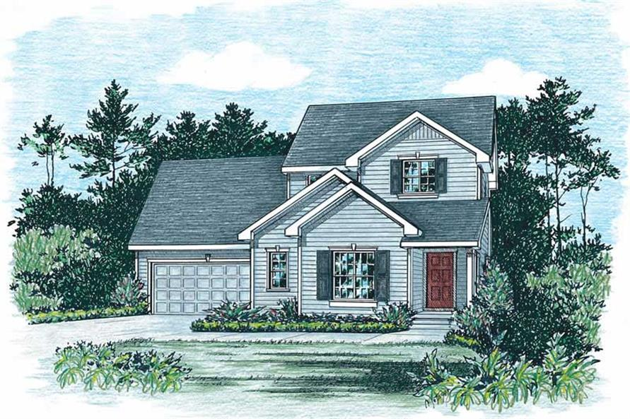 Main image for house plan # 5513