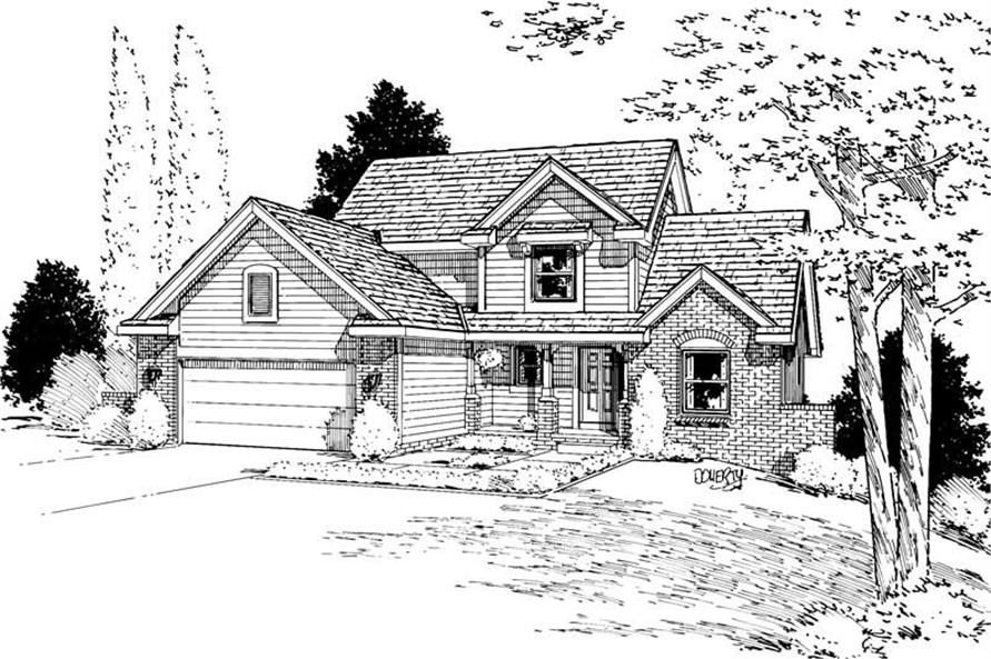 Main image for house plan # 5638