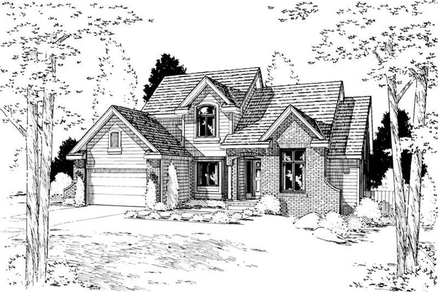 Main image for house plan # 5643