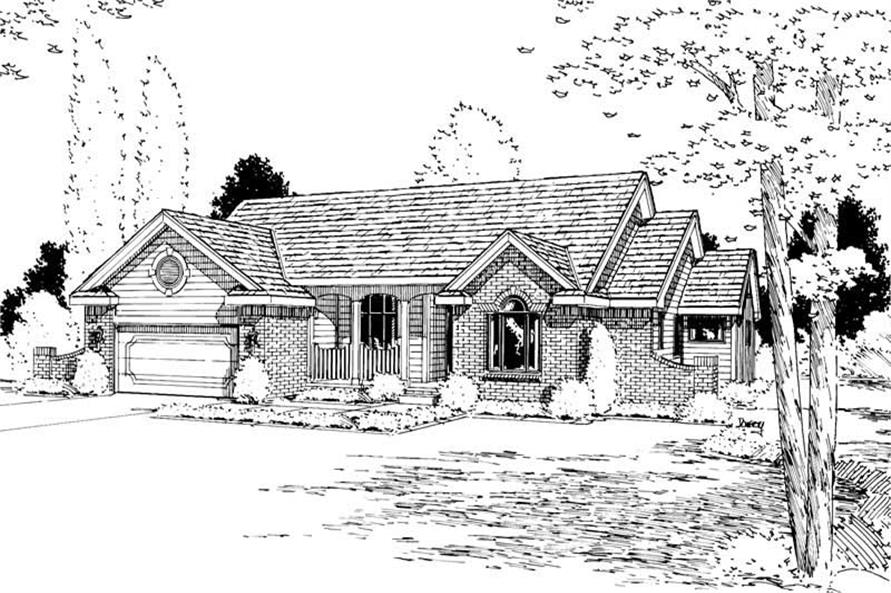 Main image for house plan # 5649