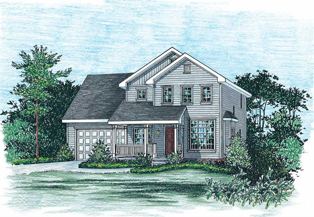 Main image for house plan # 5512