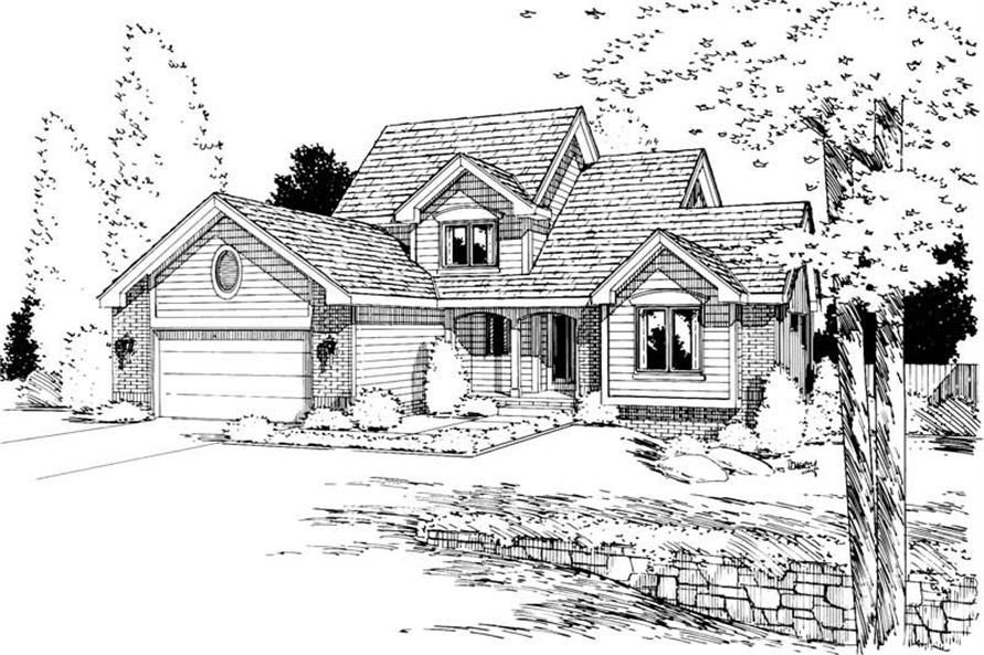 Main image for house plan # 5728