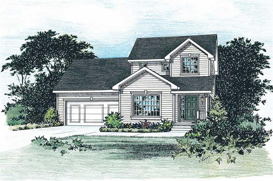 Main image for house plan # 5511