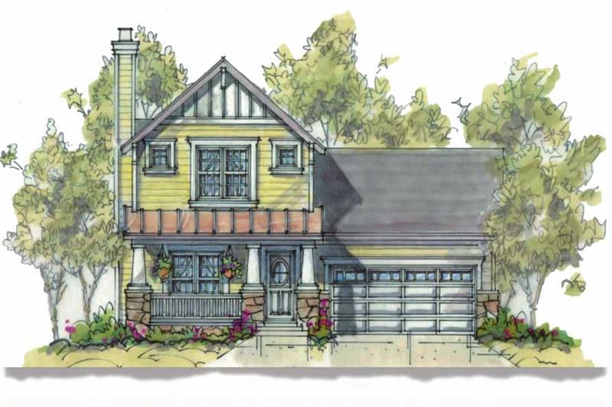 Main image for house plan # 5811