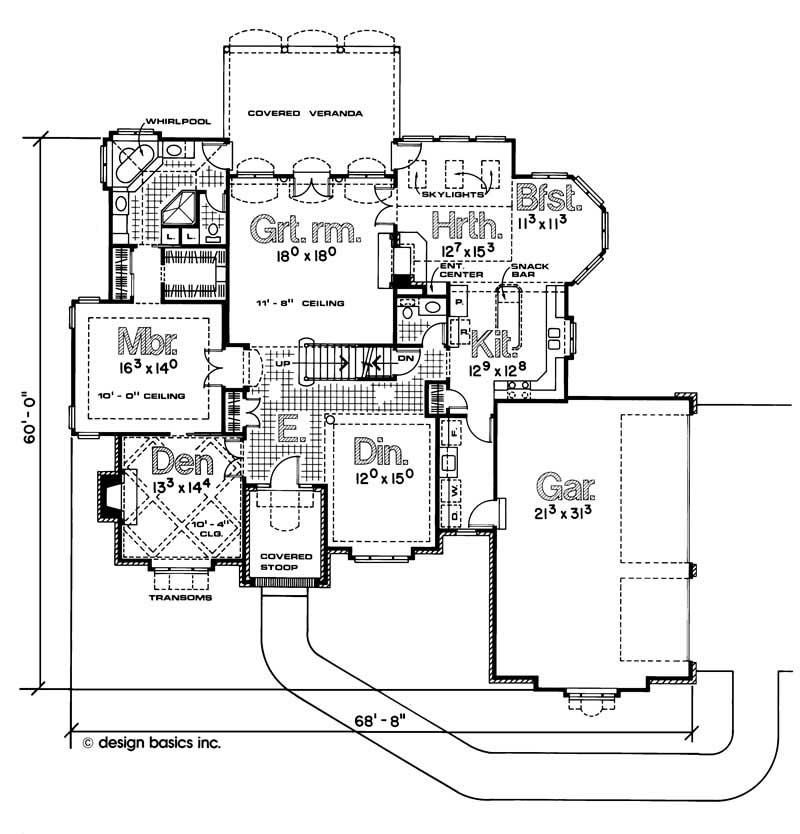 House Plan 120 1100 4 Bedroom 2932 Sq Ft European