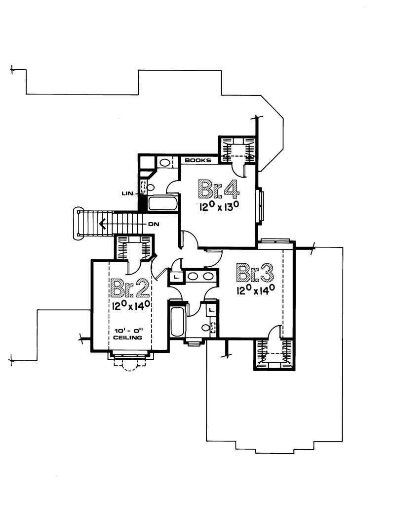 House plan 120 1100 4 bedroom 2932 sq ft european for How much is 1100 square feet