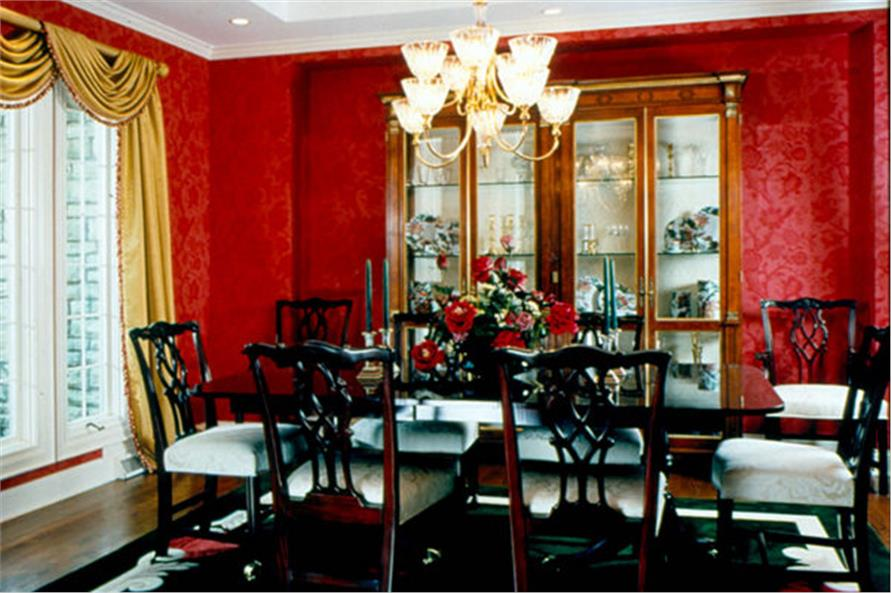 Dining Room of this 4-Bedroom,3904 Sq Ft Plan -3904