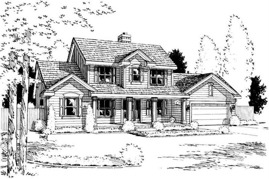 Main image for house plan # 5732