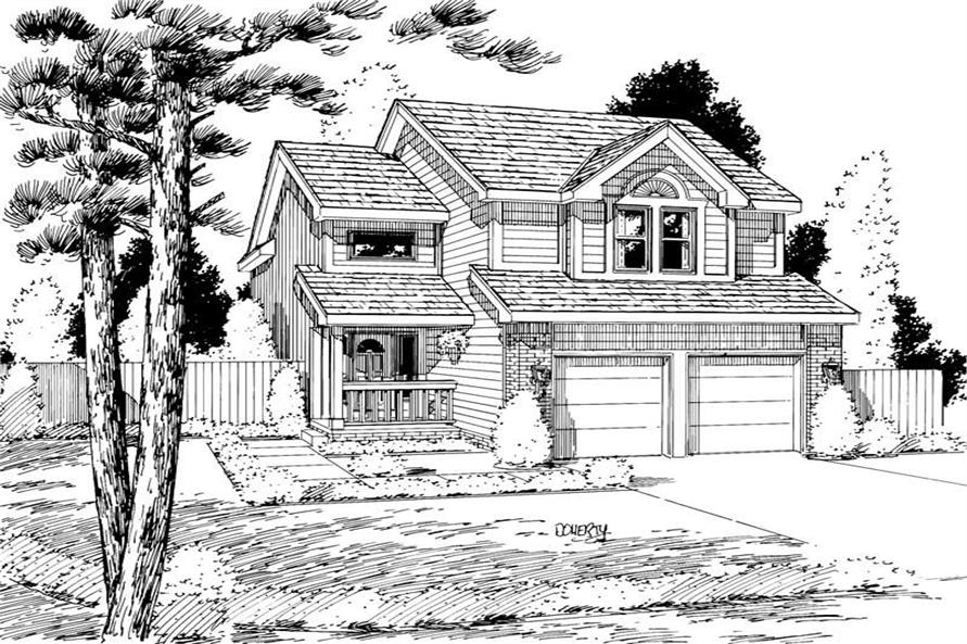 Main image for house plan # 5733