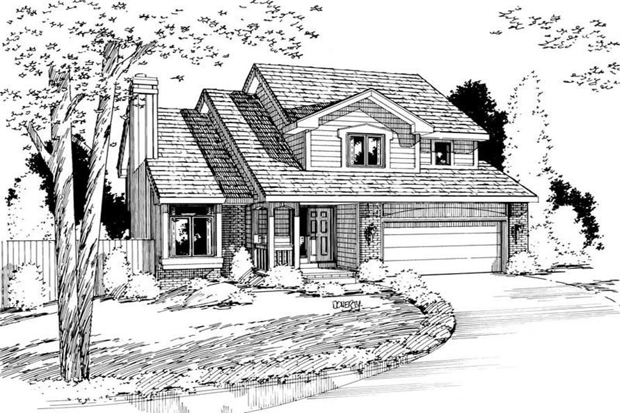 Main image for house plan # 5737