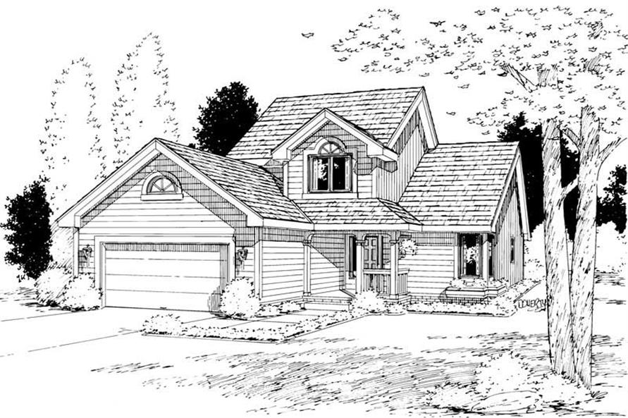 Main image for house plan # 5744