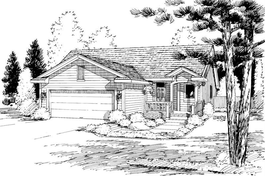 Main image for house plan # 5754