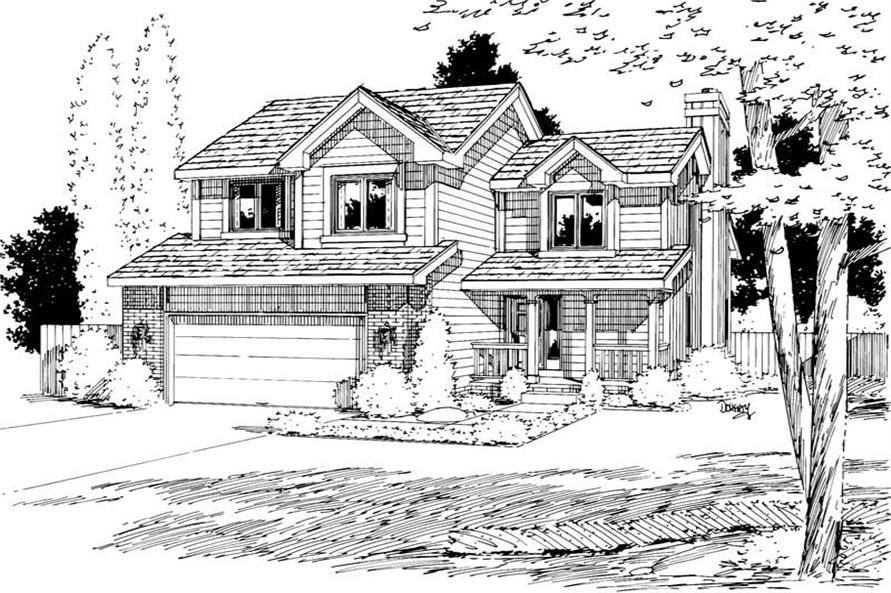 Main image for house plan # 5756