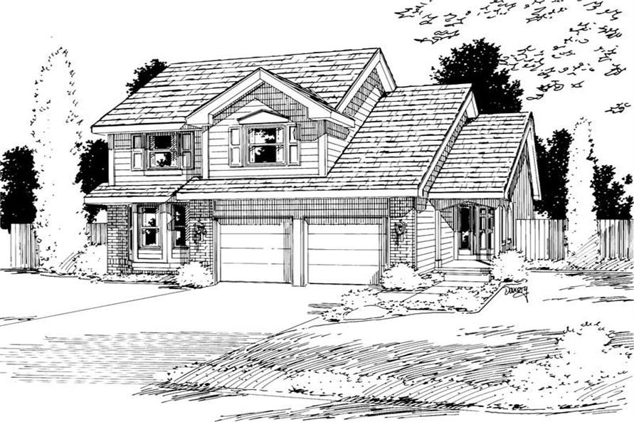 Main image for house plan # 5757