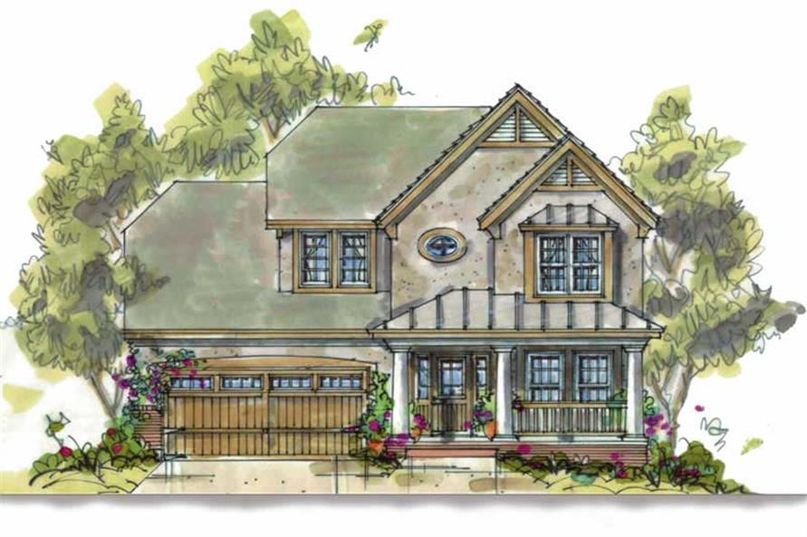 Main image for house plan # 5814
