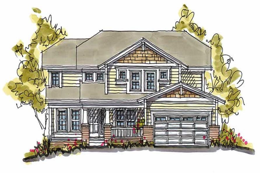 Main image for house plan # 5778