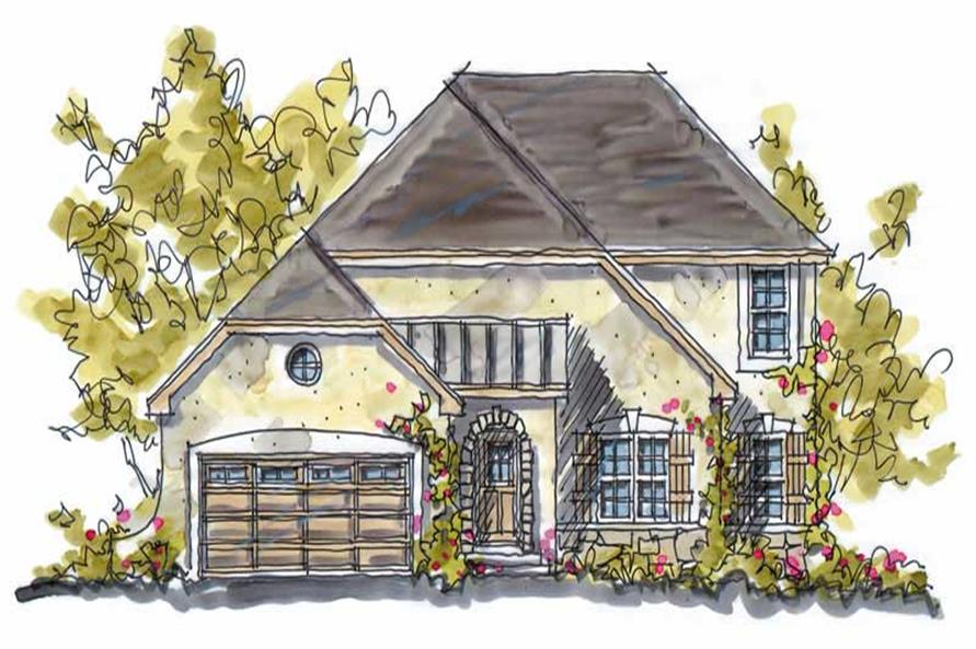 Main image for house plan # 5794