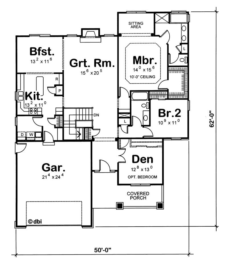 house plan 120 1125 3 bedroom 1902 sq ft ranch country home tpc. Black Bedroom Furniture Sets. Home Design Ideas