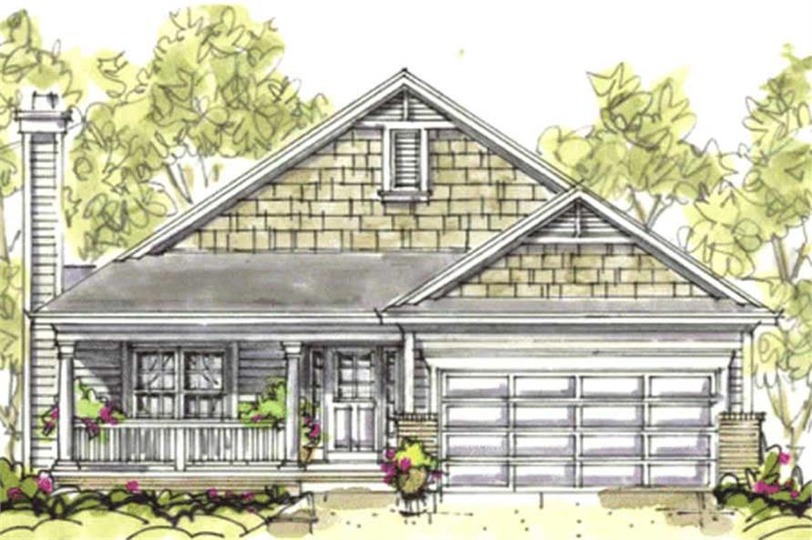 Main image for house plan # 5805